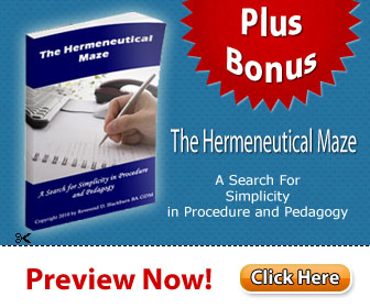 The Hermeneutical Maze