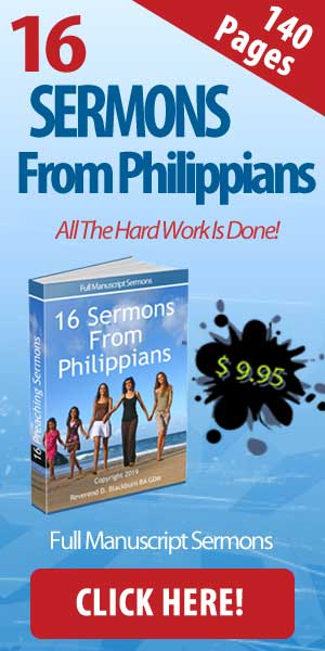 More Free Online Sermons | Writing Sermons And Sermon Outlines