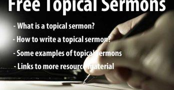 Free Topical Sermons