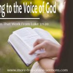 Sermons That Work From Luke 3