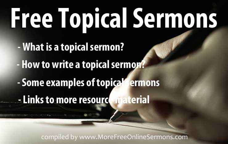 Free Topical Sermons