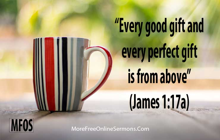 James 1:17a